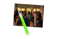 Group Glow Sticks. Pack of 12 (green alternate). SAVE 50%