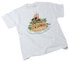 Shipwrecked Theme T-Shirt, Adult Lg (42-44). SAVE 50%