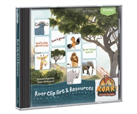 Roar Clip Art & Resources CD - Roar VBS by Group. Save 50%