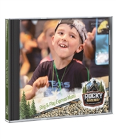 Sing & Play Express Music Participant Version CD- Rocky Railway VBS. Save more if you buy 50 or more!
