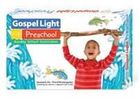 Gospel Light Ages 4-5 Pre-K/Kind. Teacher's Classroom Quarterly Kit. Save 20%.