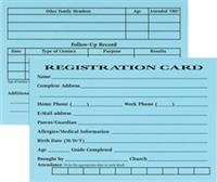 RBP Registration Cards. Save 5%.