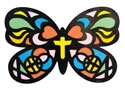 Stained Butterfly Craft (Pack of 12) - VBS 2021 by Concordia Publishing