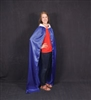 Mighty Fortress Royal Blue Cape. SAVE 50%.