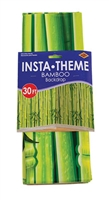Bamboo Backdrop 4' x 30' - Rainforest Explorers VBS 2020. Save 50%