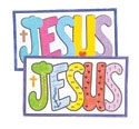 Jesus Sand Art (Craft, Pack of 12) - VBS 2021 by Concordia Publishing