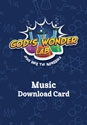 God's Wonder Lab Music Download Card - VBS 2021  by Concordia Publishing