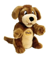 Theophilus the FaithRetriever Puppet. Save 10%.