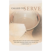 Called To Serve Bulletins (pkg.100).  Save 50%.