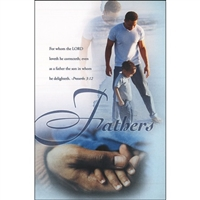 African Americans Fathers Bulletins (pkg.100).  Save 50%.