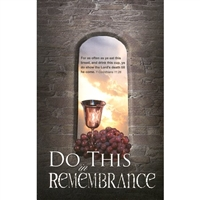 Do This In Remembrance of Me (pkg.100).  Save 50%.