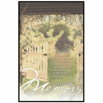 In Memory Bulletins (pkg.100).  Save 50%.