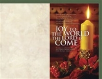 Joy To The World Christmas Bulletins (pkg.100).  Save 50%