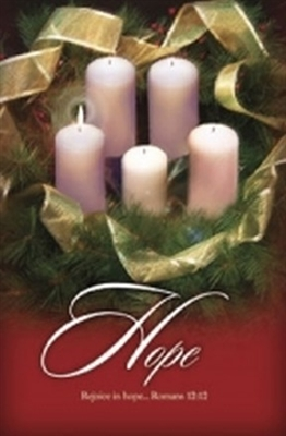 Advent Week 1 Christmas Bulletins (pkg.100).  Save 50%.