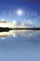 Newness of Life Baptism Bulletins (pkg.100).  Save 50%.