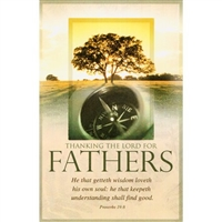 Thank Lord For Father Bulletins (pkg.100).  Save 50%.