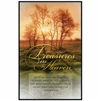 Treasures In Heaven Bulletins (pkg.100). Save 50%.