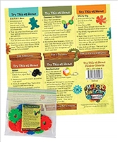 Maker Fun Factory Try This At Home Sticker Sheets (Package of 10). SAVE 50%