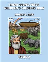 Union Gospel Press Children's Coloring Book 2: Noah's Ark. Save 5%.