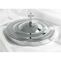 RemembranceWare Bread Plate Cover.  Silvertone or Brasstone. Save 20%.