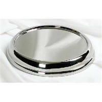 RemembranceWare Stack Bread Plate Base. Brasstone or Silvertone. Save 20%.
