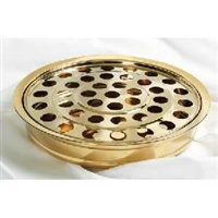 RemembranceWare Communion Tray and Disc. Brasstone or Silvertone. Save 20%.