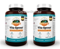 2 Bottles Maximum Living Vita-Sprout. 240 Capsules total. FREE SHIPPING Out of stock until Apr. 8, 2021