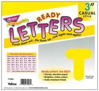Ready Letters-Yellow.  Save 5%.
