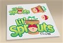 Lil' Sprouts Iron-On. Save 10%.