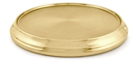 Artistic Communion Tray Base. Brasstone or Polished Aluminum. RW502. Save 20%.
