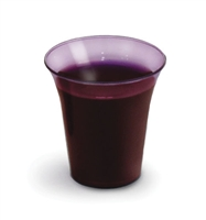 Grape Colored Disposable Communion Cups by Artistic.  1000 per package. RW78