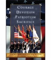 Pkg./100 Funeral Bulletins-Military/ Patriotic.  Save 50%.