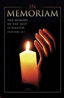 In Memoriam Bulletins. Pkg./100. Save 50%.
