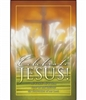 Pkg./100 Easter Bulletins-Celebrate Jesus!  Save 50%.
