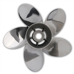 Pleasure FIVE Blade Propeller for Evinrude G2