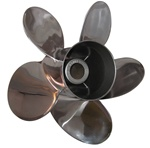 Pleasure FIVE Blade Propeller for Mercury Bravo, Alpha 1