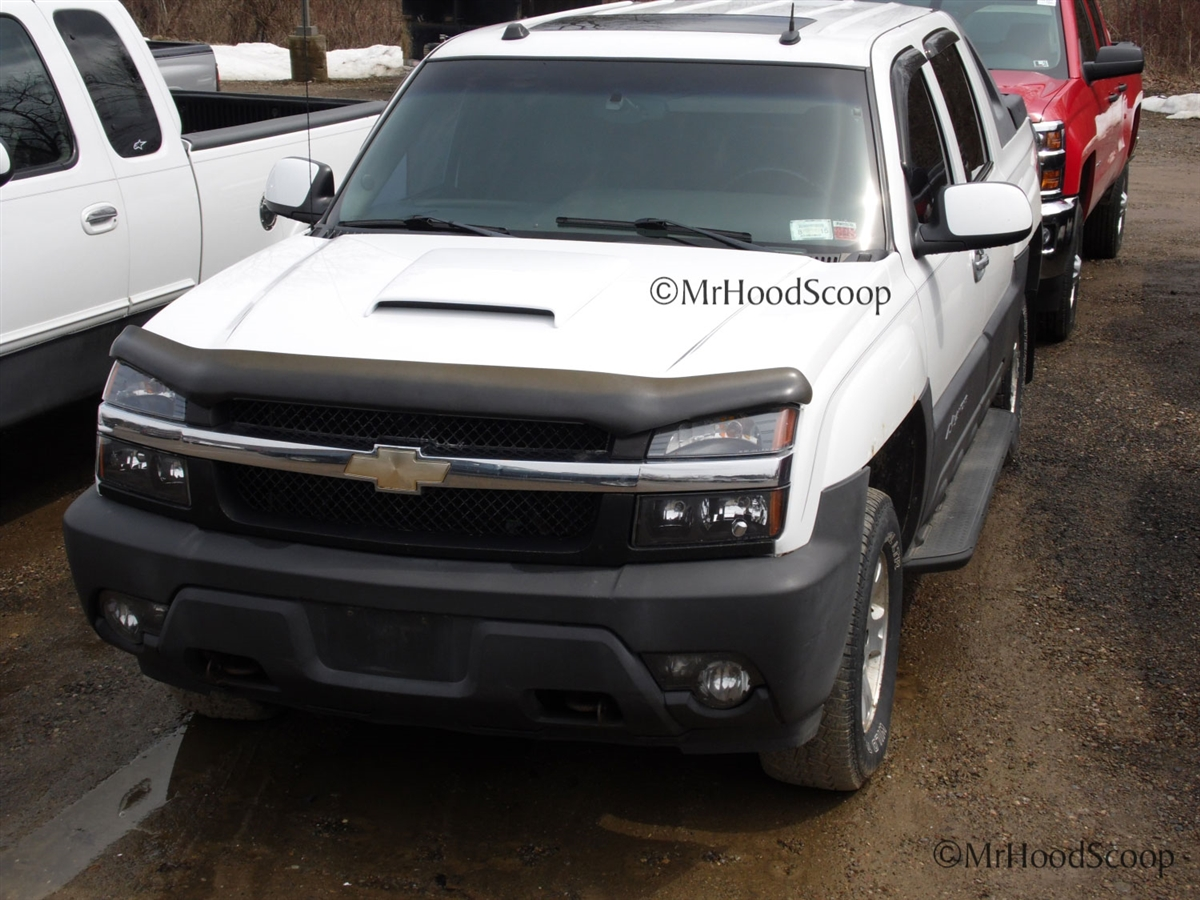 2001, 2002, 2003, 2004, 2005, 2006 Chevy Avalanche Hood Scoop hs003 ...