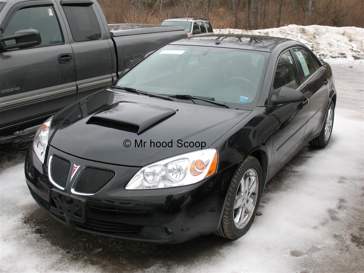 2005 2006 2007 2008 2009 2010 Pontiac G6 Hood Scoop Hs005 By Mrhoodscoop