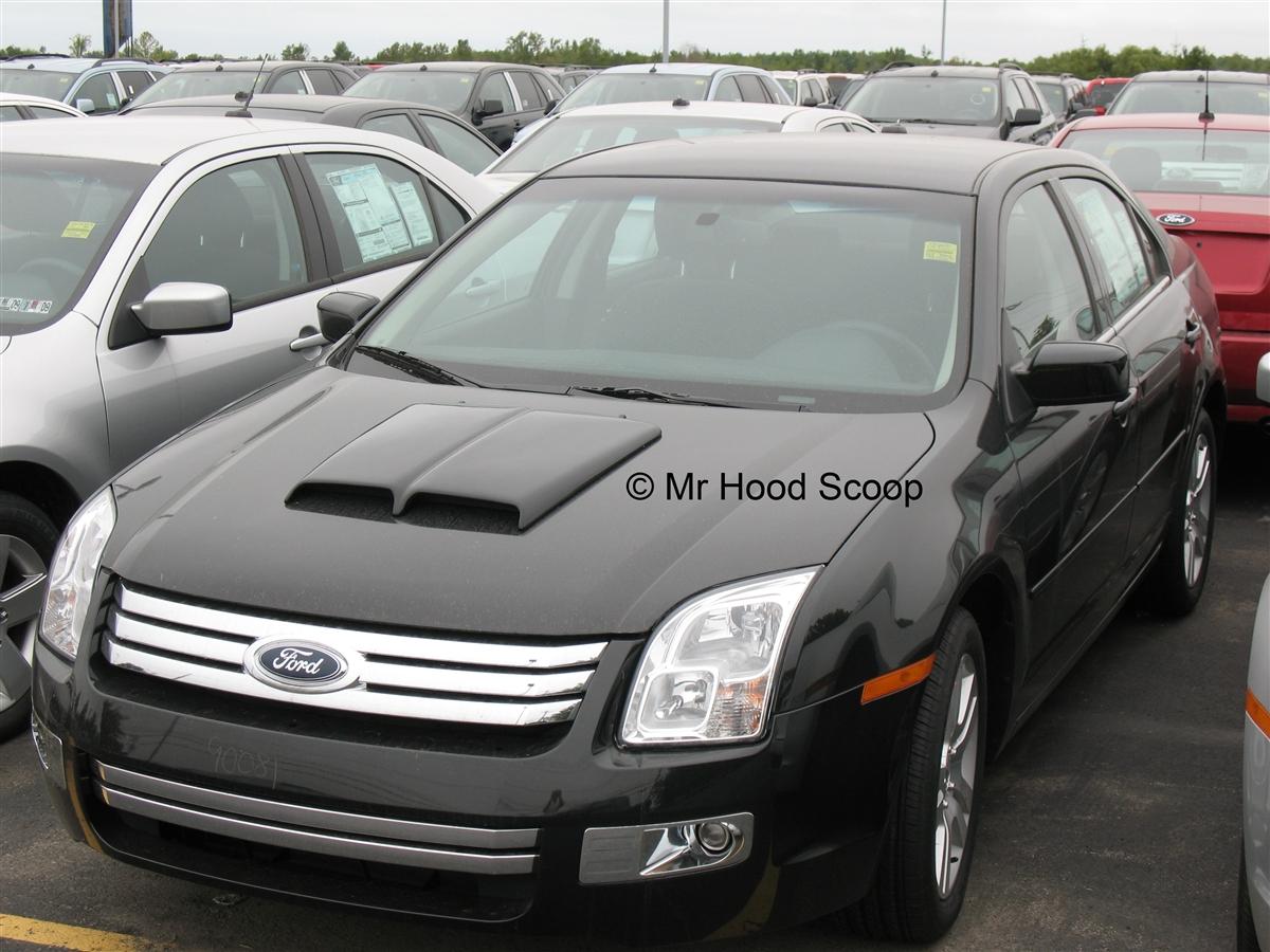 Ford fusion hood scoop hs002 by mrhoodscoop
