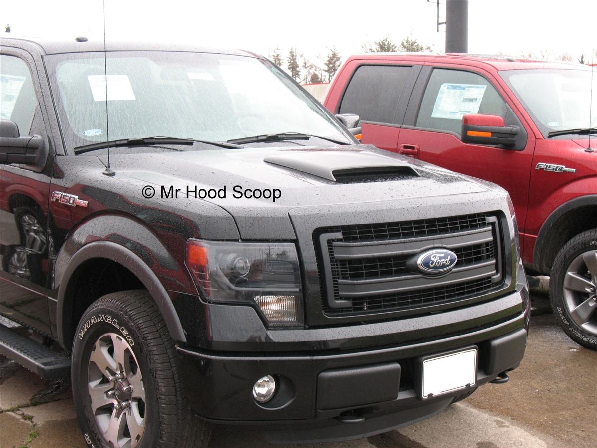 Ford F150 Hood Scoop 2009 2010 2011 12 13 14 Hs005