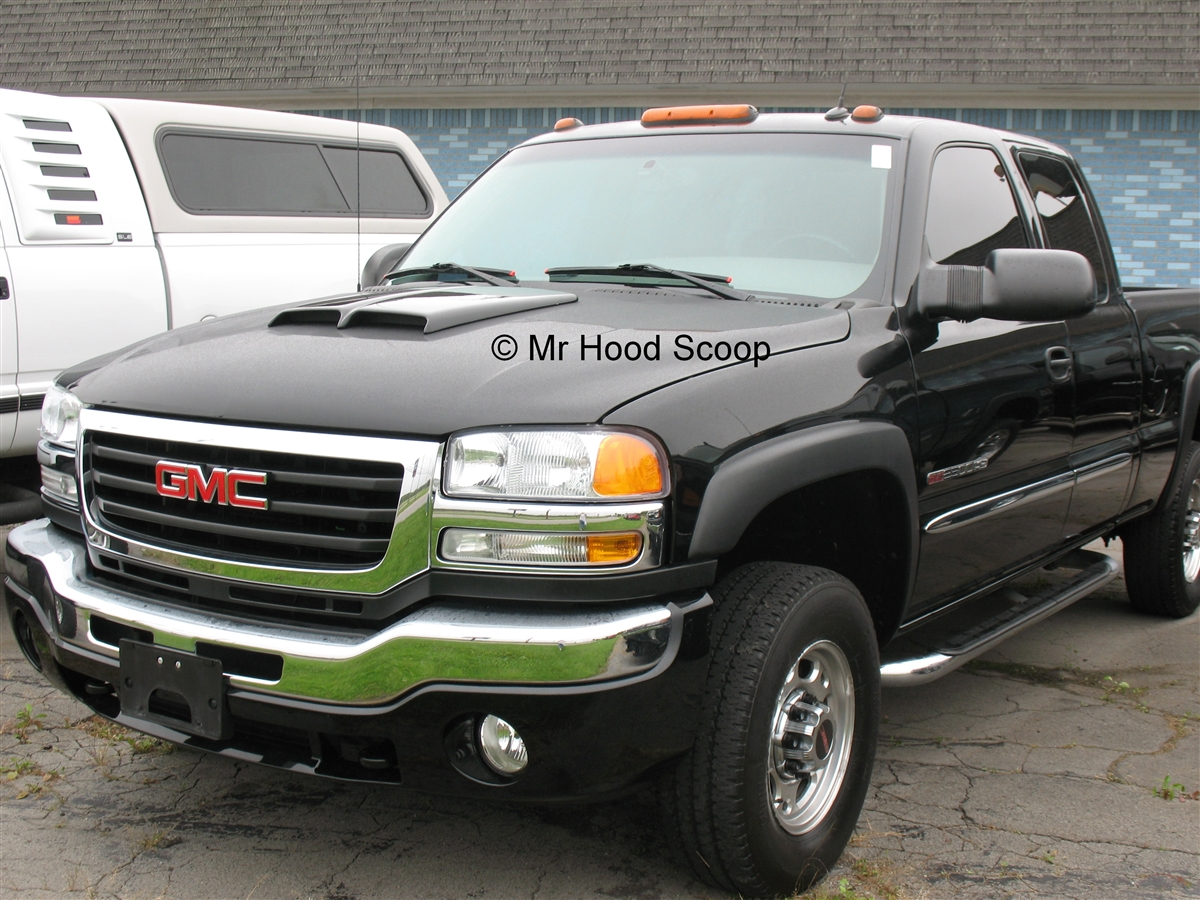 Gmc Sierra 1500 Hood Scoop Hs002 2006 Front Bumper Diagram From 17999