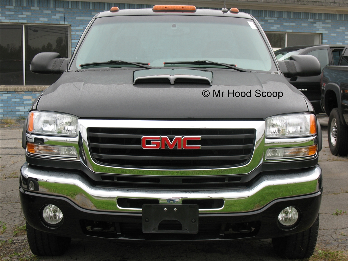 Gmc Sierra 2500 3500 Hood Scoop Hs002