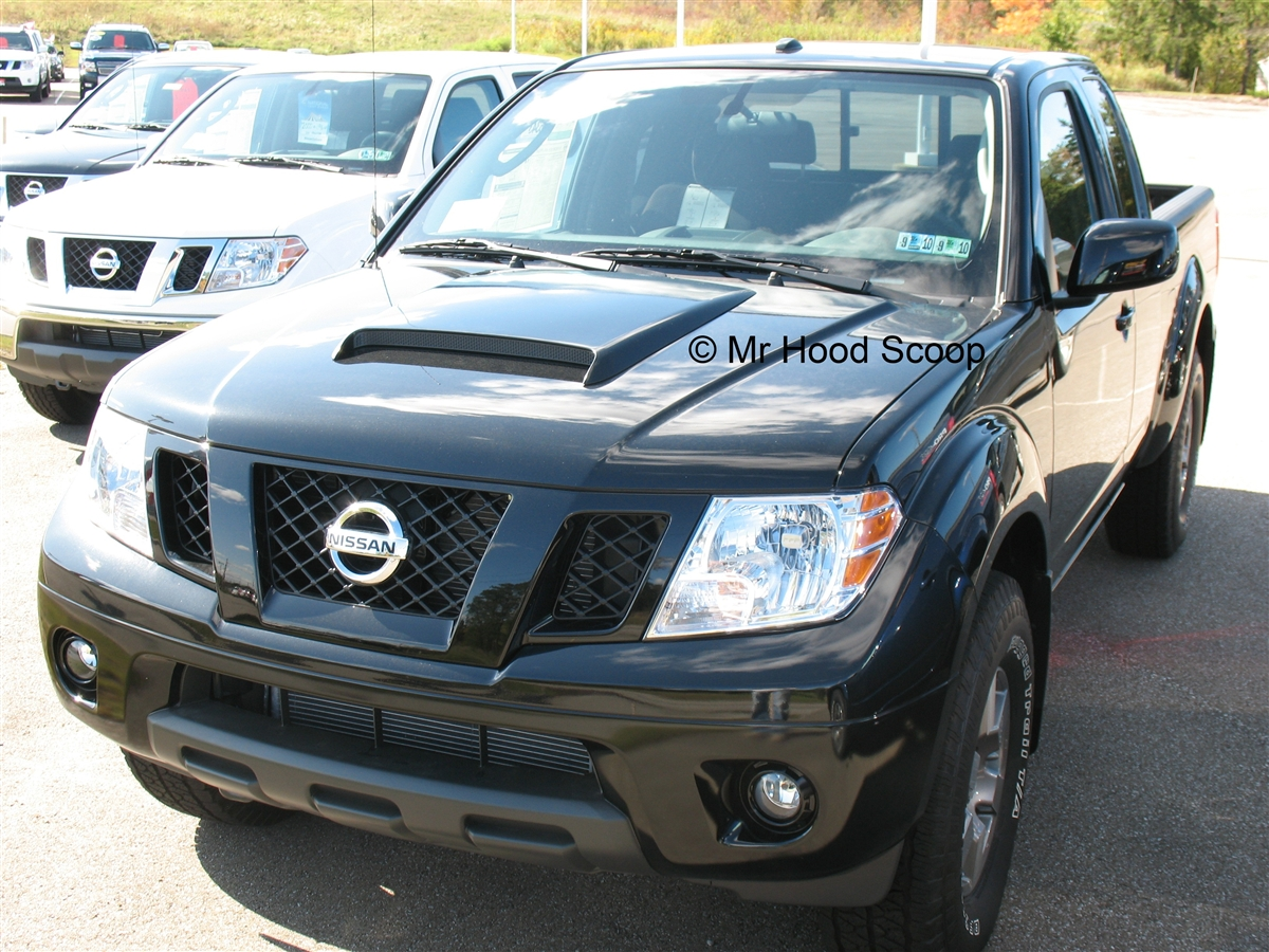 1998 1999 2000 2001 2002 2003 2004 2005 2006 2007 2008 2009 2010 2011 2012 2013 1998 2017 nissan frontier hood scoop kit with grille insert hs009 unpainted or painted