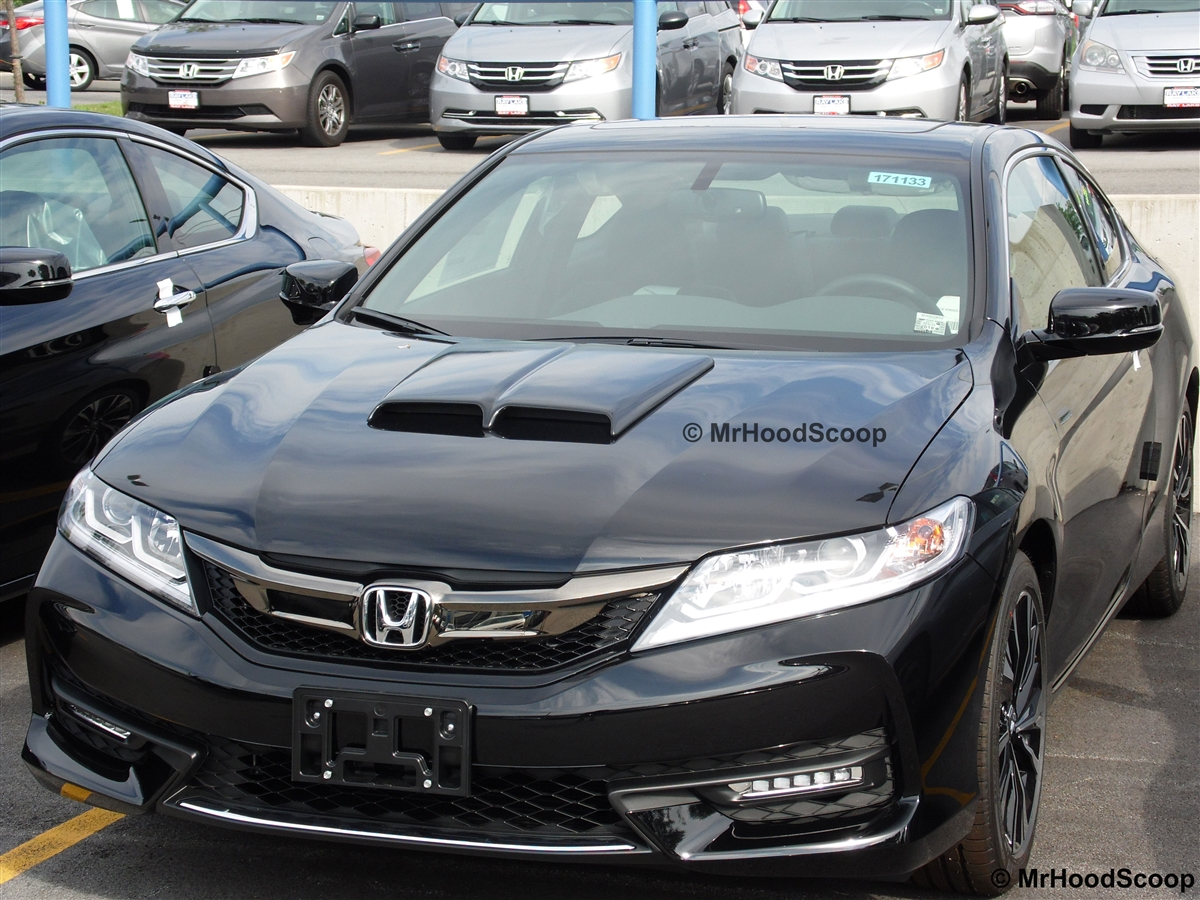 2017 2016 Honda Accord Hood Scoop Hs002 By Mrhoodscoop