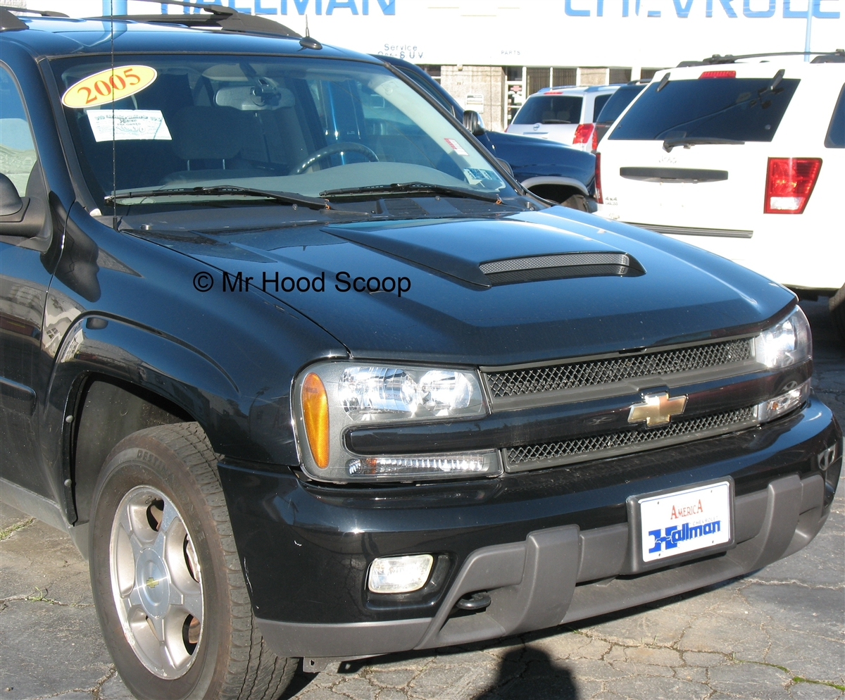 chevy trailblazer hood scoop hs009 by mrhoodscoop. Black Bedroom Furniture Sets. Home Design Ideas
