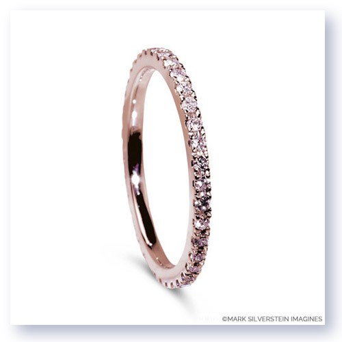 Pink Diamond Eternity Band Larger Photo Email A Friend