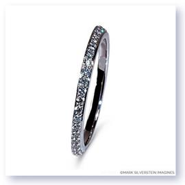 Mark Silverstein Imagines Beveled 18K Gold Diamond Eternity Band