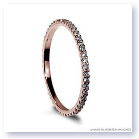 Mark Silverstein Imagines Thin 18K Rose Gold Diamond Eternity Band