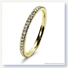 Mark Silverstein Imagines 18K Yellow Gold Micro Pavé Set Diamond Eternity Band