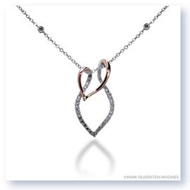 Mark Silverstein Imagines 18K White and Rose Gold Diamond Pendant